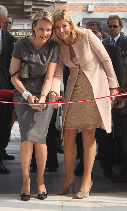 <h2>QUEEN MAXIMA OF THE NETHERLANDS AND QUEEN MATHILDE OF BELGIUM