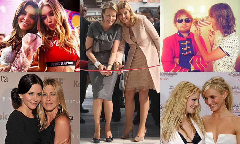 15 Celebrity Friendships We're Totally Jealous Of | TheThings