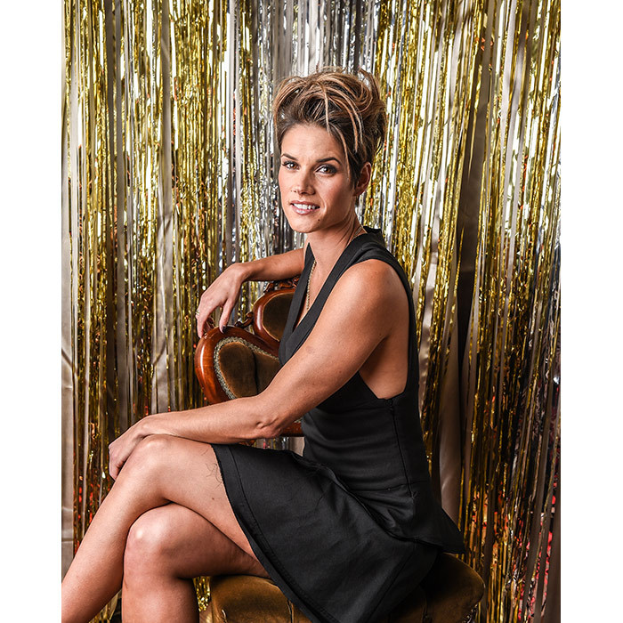 <em>Rookie Blue</em> star and nominee Missy Peregrym.