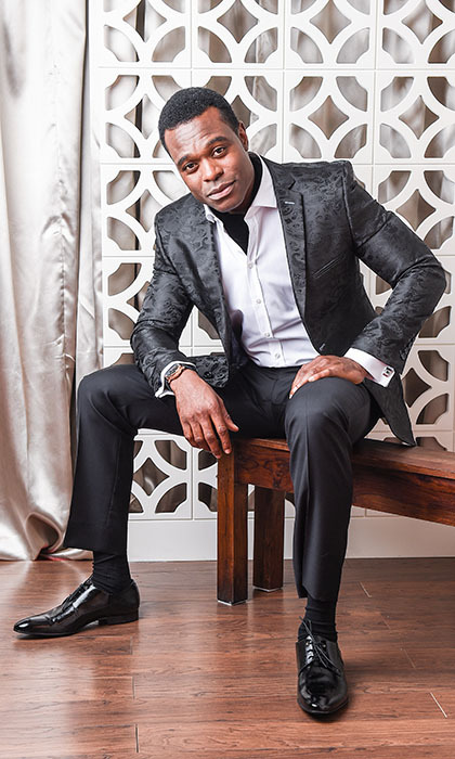 </em>The Book of Negroes<em> star and winner Lyriq Bent.