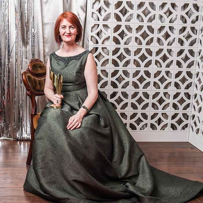 <em>Room</em> author and winner Emma Donoghue. 