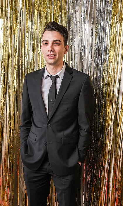 <em>Goon</em> star and presenter Jay Baruchel. 