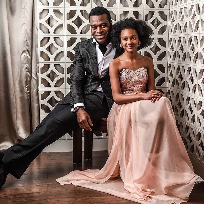 <em>The Book of Negroes</em> winners Lyriq Bent and Shailyn Pierre-Dixon.