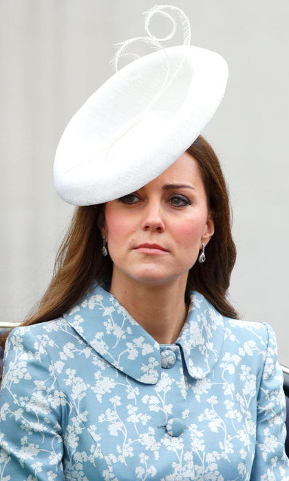 For Trooping the Colour in 2015, Kate wore a bespoke version of Lock & Co's Marisabel Hat, which retailed for $1,700.