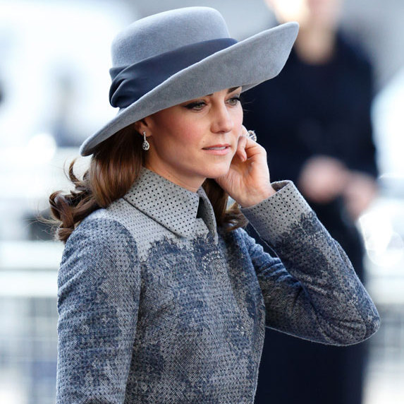 <p>At the 2016 Commonwealth service, the royal looked stunning in a $4,740 Erdem coat and topped off the look with a matching wide-brimmed hat by John Boyd, a 90-year-old milliner who was known for designing toppers worn by Kate's late mother-in-law Princess Diana.