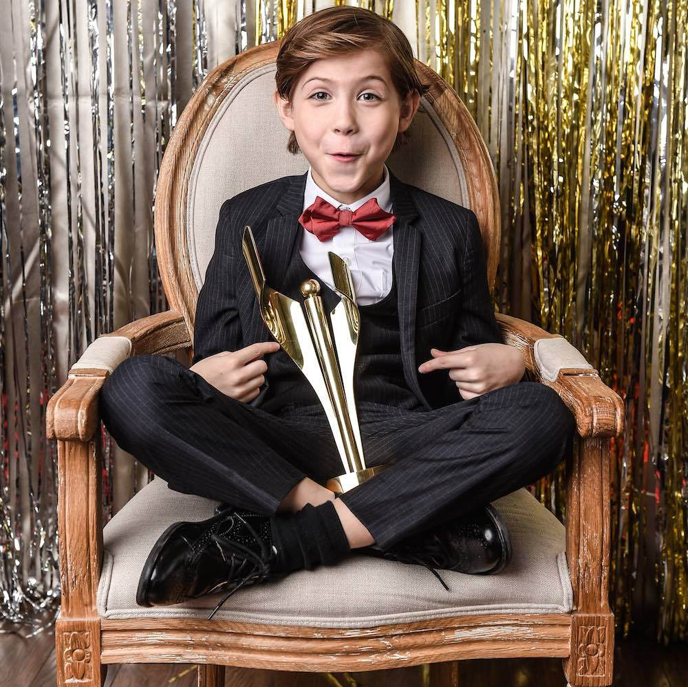 <em>Room</em> star and best actor winner Jacob Tremblay.