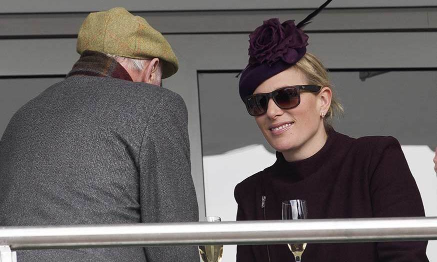 Zara chatted with race horse owner Trevor Hemmings.