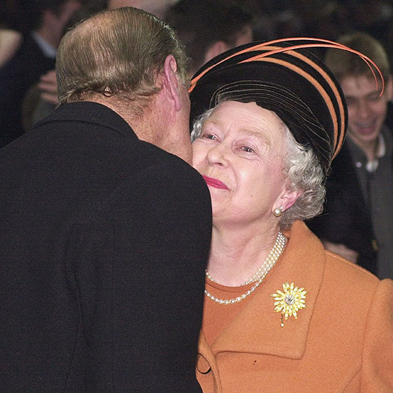 "40. While the Queen and Prince Philip kissed for the first time in public at midnight on Millennium Eve, they share plenty of affection in private. The Duke's pet name for his royal wife is known to be ""Cabbage"".