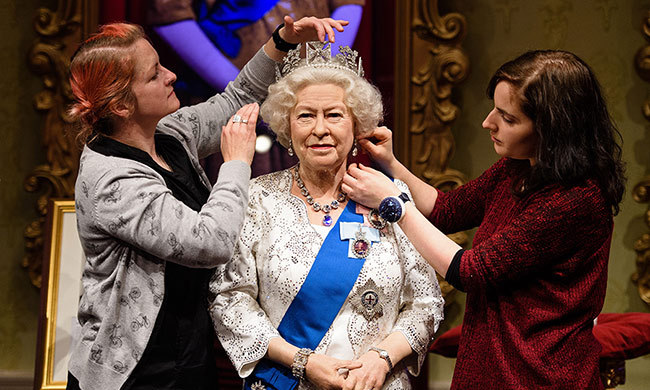 69. Madame Tussauds have showcased no less than 23 different waxworks of the Queen to date.