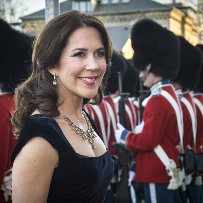 The royal has previously worn the tiara as a necklace.