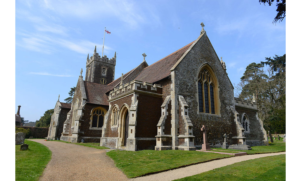 <strong>Princess Charlotte was christened in the same church as Diana