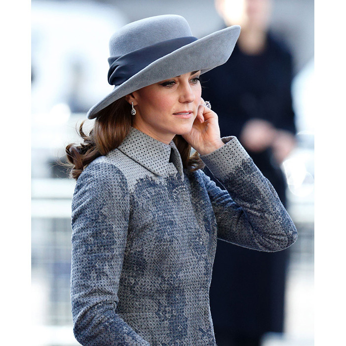 <p>When the Duchess of Cambridge stepped out for the annual Commonwealth service this week, she wore one of her most traditional hats yet – a wide-brimmed creation made by famed milliner John Boyd.