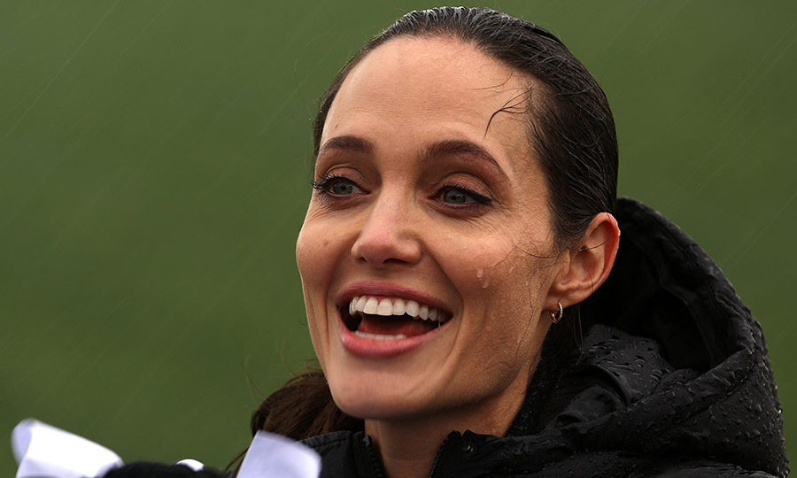Angelina Jolie Mobbed In Greece On Emotional Visit With Syrian Refugees