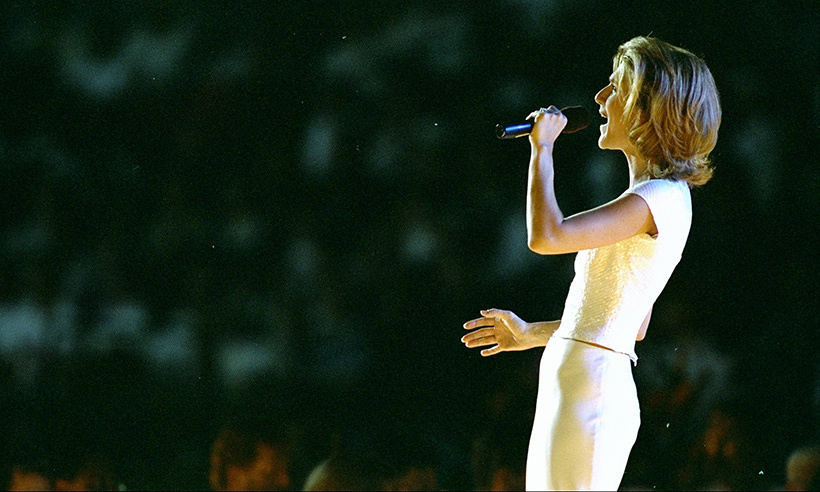 "During the Olympic Games held in Atlanta, Georgia in 1996, Celine performed the song ""The Power of the Dream"" for a live audience of more than 100,000 people. An additional 3.5 billion viewers watched from home. The ever-generous Celine donated her earnings from this gig to help support Canadian athletes. 