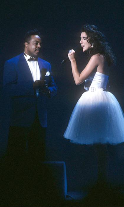 "Celine showed off the magic of her voice performing Disney's hit song ""Beauty and the Beast"" with Peabo Bryson. The duet played during the 1991 film's credits and also became a commercial success in its own right, reaching number nine on the Billboard Hot 100. 