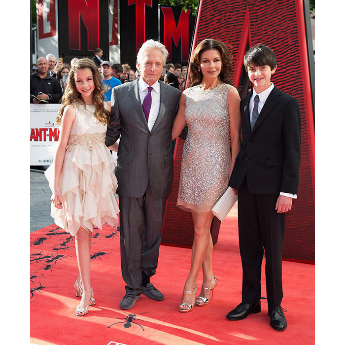 <p>The family put on another united front at the premiere of <em>Ant-Man</em> in July 2015, just days after Michael's mother Diana lost her cancer battle at the age of 92.