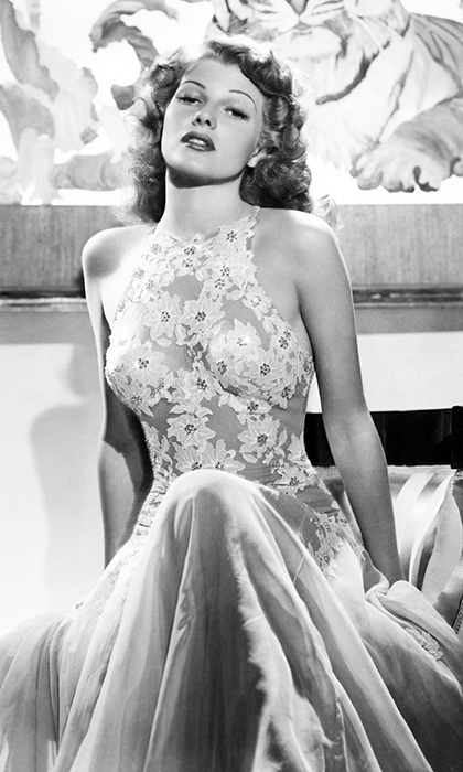 <strong>Rita Hayworth, consort to Prince Aly Aga Khan