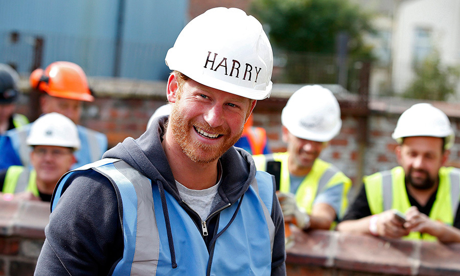 <p>In September 2015, Prince Harry was a bit closer to home in Manchester, England, as he joined a construction team to help renovate homes for ex-military personnel for the BBC television show <em>DIY SOS</em>.