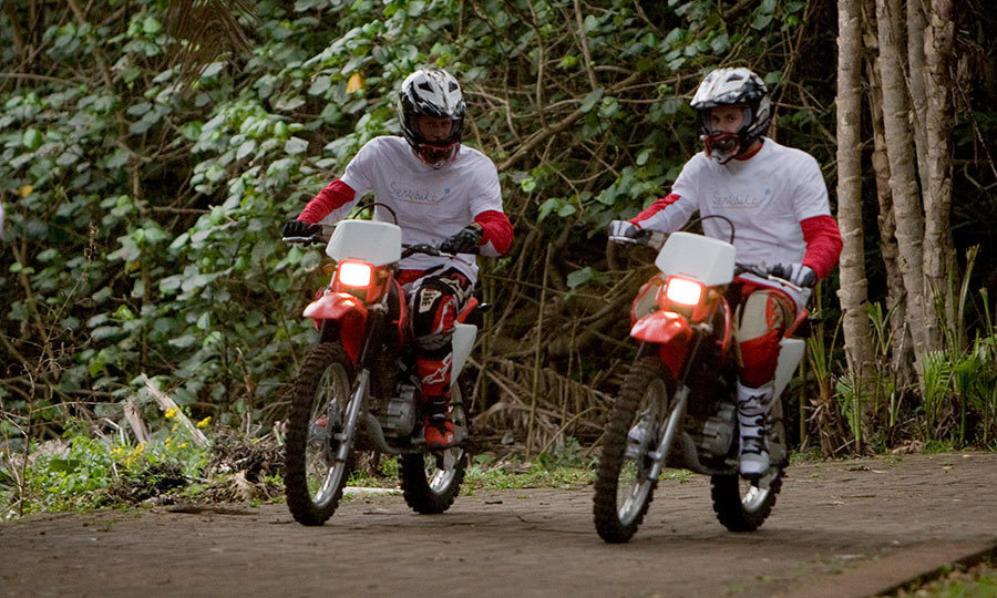 <p>Adventurous brothers William and Harry both took part in the Enduro 2008 Motorcycle Rally in South Africa. The royal siblings used the event to raise money for Prince Harry's charity to help orphans and vulnerable children in Lesotho.
