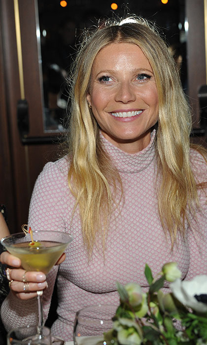 Gwyneth Paltrow helped toast Hollywood's top stylists at a dinner hosted by The Hollywood Reporter and Jimmy Choo.