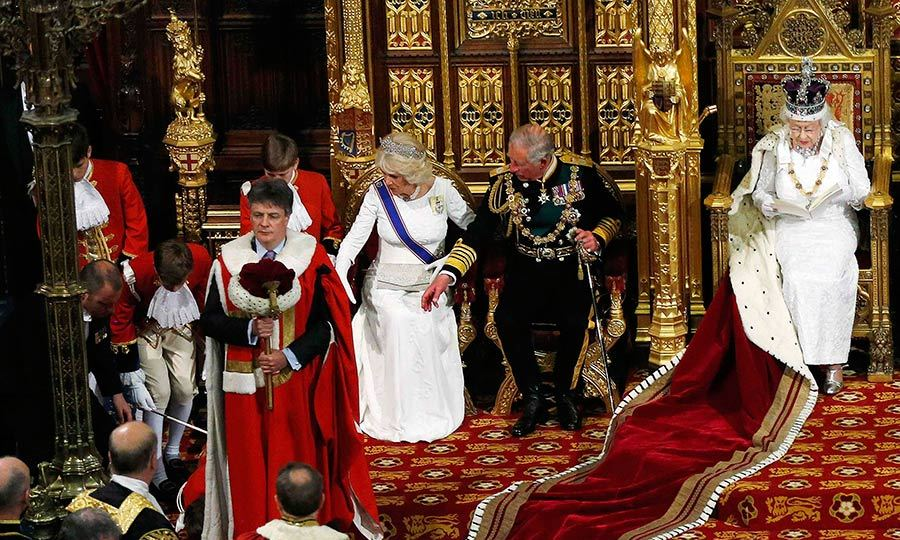 In 2014 a page boy fainted as the Queen delivered her speech during the State Opening of Parliament in the House of Lords.