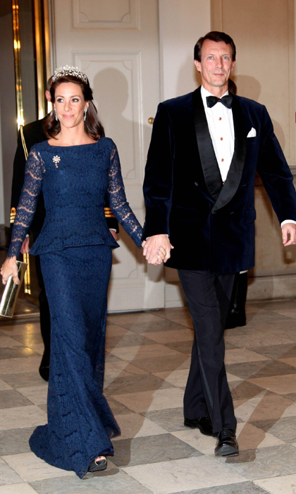 Princess Marie of Denmark with her husband Prince Joachim.