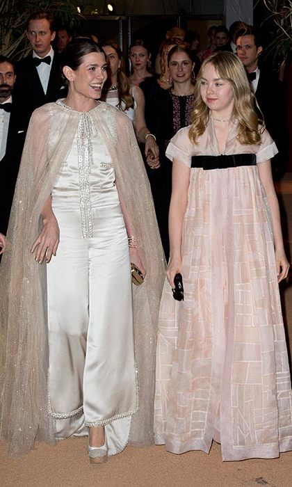 Charlotte and Alexandra both wore Chanel.