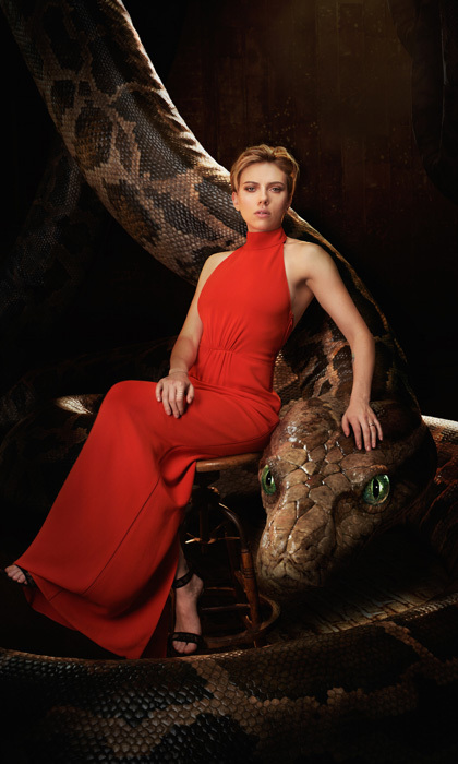 <b>Scarlett Johansson as Kaa<br></b>