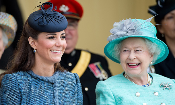 Duchess Kate admitted she was worried what to give the Queen for Christmas 