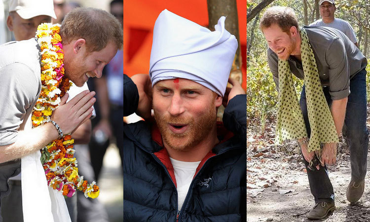 Prince Harry's royal tour of Nepal is well underway and the charming prince is immersing himself in the country's culture and history. From visiting earthquake-stricken villages to trekking the foothills of the Himalayas, here are the best photos from the British royal's trip.