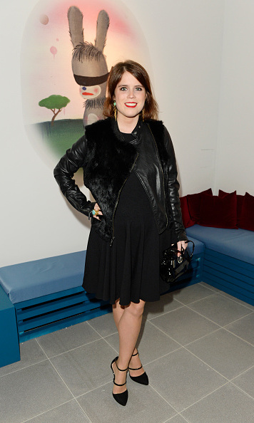 "The princess took the phrase ""black goes with everything, especially black,"" to heart while attending the Coach X Serpentine The Future Contemporaries Party held at the Serpentine Sackler Gallery in London.