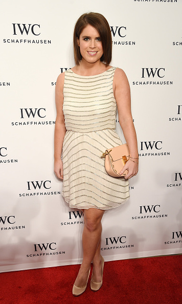 Eugenie was ready for her close-up in a cream embellished mini while attending the IWC Schaffhausen third Annual 'For the Love of Cinema' Gala during the Tribeca Film Festival.