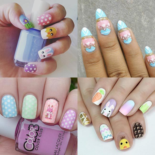Easter Inspiration The Best Nail Art To Try Hello Canada