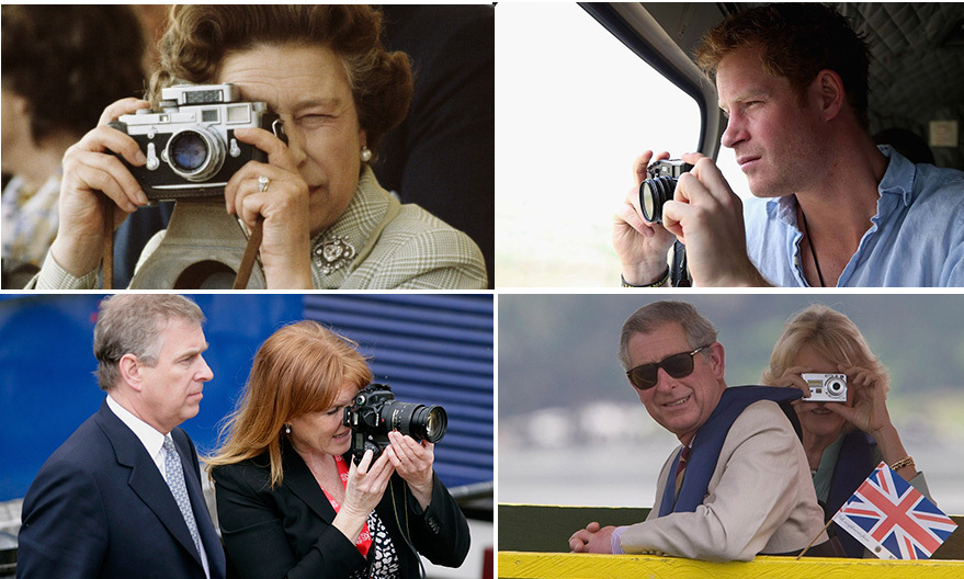 With all of their adventures both at home and abroad, it's no surprise that royals love documenting all the fun. From Kate and Prince Harry to the Queen and Camilla, we've rounded up their best shutterbug moments.