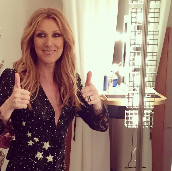 "On Jan. 14, Celine faced the hardest challenge of her life: saying goodbye to her lifelong manager and partner, husband René Angélil. Her biggest fan, his dying wish had been that she keep performing, and after a heart-wrenching funeral and memorial service, the singer returned to the Las Vegas stage in February 2016, opening the show with a montage of photos of her beloved. ""We are one and nothing has changed. We will always be one,"" she told the audience. Here, on Mar. 13, she shared a special message with fans on Instagram, thanking them for the strength to carry on at the Colloseum. This was the last show before a hiatus that will run until May 2016. (Photo: © Instagram)"
