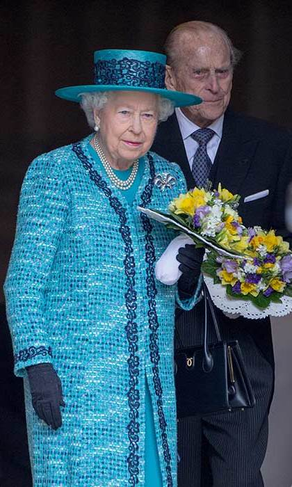 The Queen will mark her 90th birthday by carrying out two official engagements with the Duke of Edinburgh.