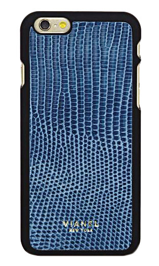 <strong>Vianel Lizard iPhone 6 Case in Renaissance Blue</strong>, $128, 