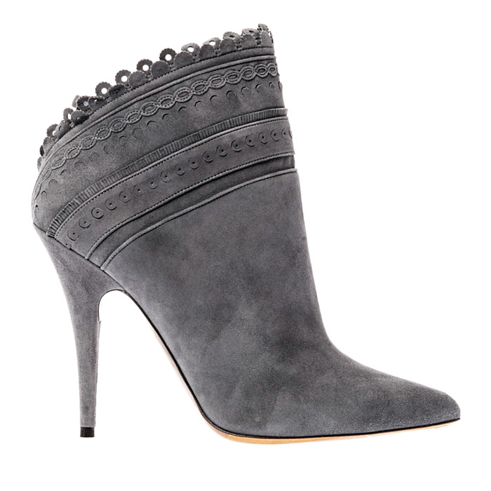 <strong>Tabitha Simmons Harmony Scalloped Suede Ankle Boots</strong>, $650,