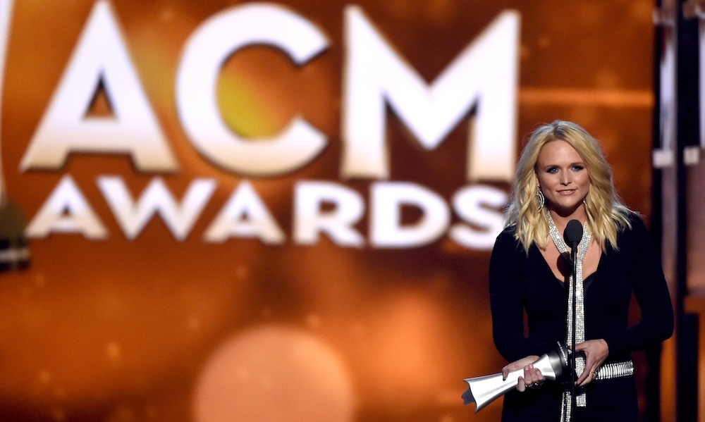 "After winning Female Vocalist of the Year, Miranda received a standing ovation in one of the biggest and best crowd reactions of the night. ""I love seeing a bunch of new country girls up here shining, singing their great songs that they wrote themselves,"" Miranda said during her acceptance speech. ""I'm really excited for women in country music, and I'm glad to be here as one of them."" The 32-year-old also took home the award for Vocal Event of the Year for ""Smokin' & Drinkin'"" ft. Little Big Town.
