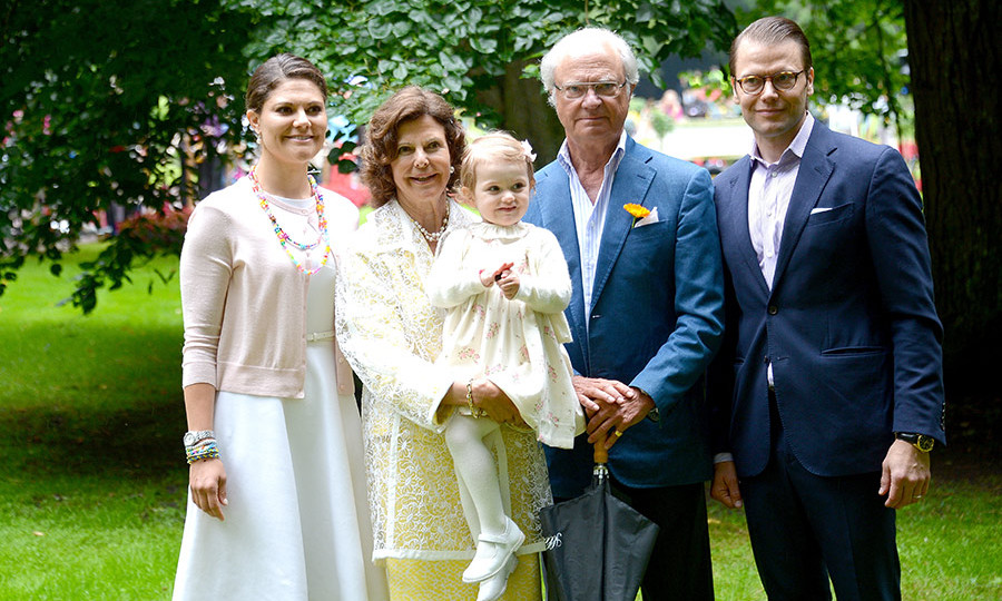 King Carl will be joined by his family, friends and VIP guests for a lavish reception and banquet at the palace.