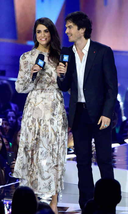 Nikki Reed and her husband Ian Somerhalder. 