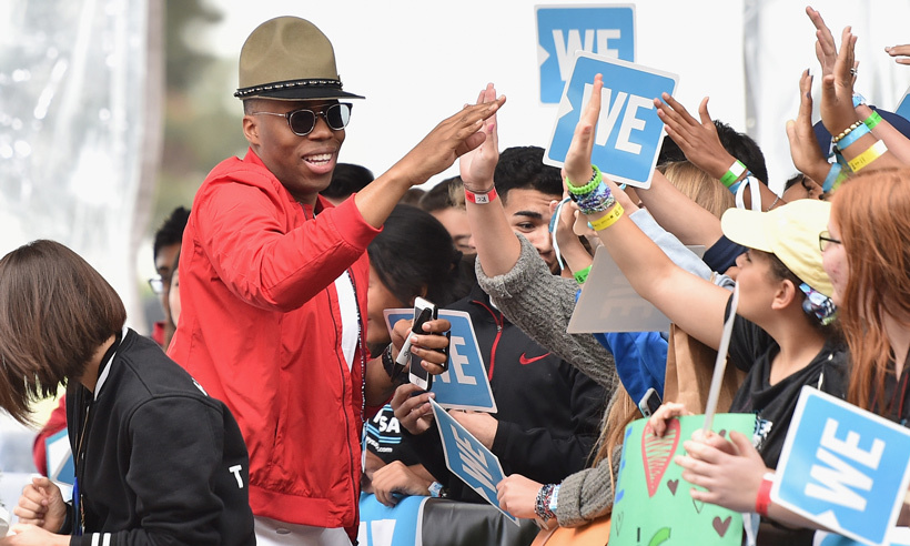 WE Day and Free the Children ambassador Kardinal Offishall. 