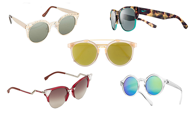 Festival tickets? Check. Sunscreen? Check. Kate Bosworth-inspired outfit? Check. Super-cool shades? Uh oh. Luckily for you, we've picked out some festival-ready sunglasses that will not only protect your eyes from the sun but top off whatever look you're rocking that day - from Coachella to Osheaga and every festival in between!
