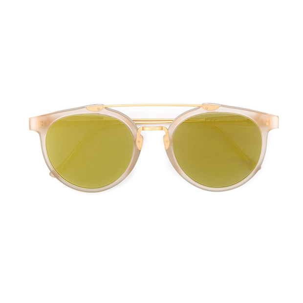 "Retrosuperfuture 'Oracle' sunglasses, $417, <a href=""http://www.farfetch.com/ca/shopping/women/Retrosuperfuture-Oracle-sunglasses-item-11369746.aspx?src=linkshare"">farfetch.com</a>"