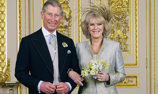 Prince Charles and The Duchess of Cornwall became husband and wife on Apr. 9 2005. 