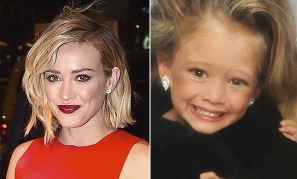 "Hilary Duff took to Instagram to share an adorable photo of her taken over 20 years ago! The actress, now 28, was just six years old when she posed for the snap, and she seems to blame one person in particular. She captioned it: ""#glamourshots #thanksmom #1993 #tb"".