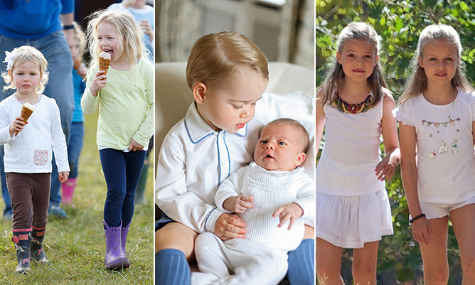 These young royals know that nothing beats the close bond shared between brothers and sisters. From Prince George and Princess Charlotte to Savannah and Isla Phillips and Spain's Princess Leonor and Princess Sofia, here are some of the world's most adorable royal siblings.