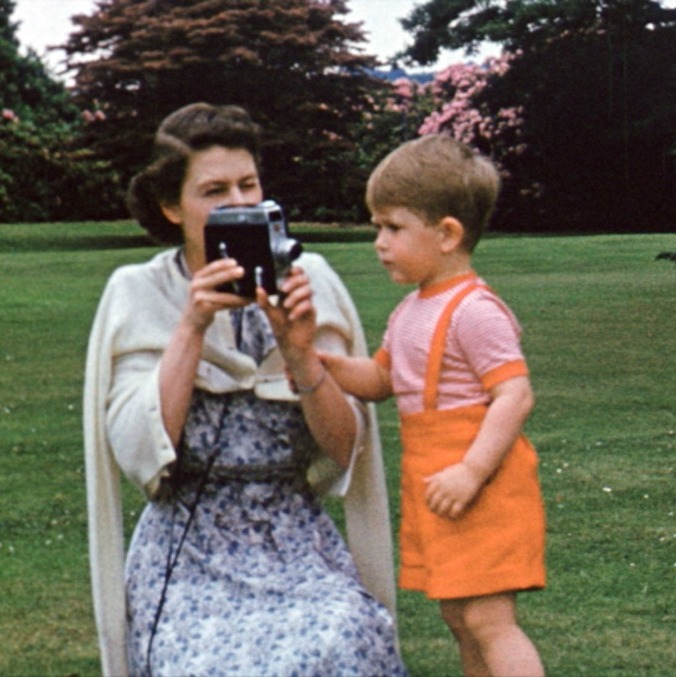 Film-maker John Bridcut was granted access to the complete collection of Her Majesty's personal cine films, much of which hasn't been seen in public before.