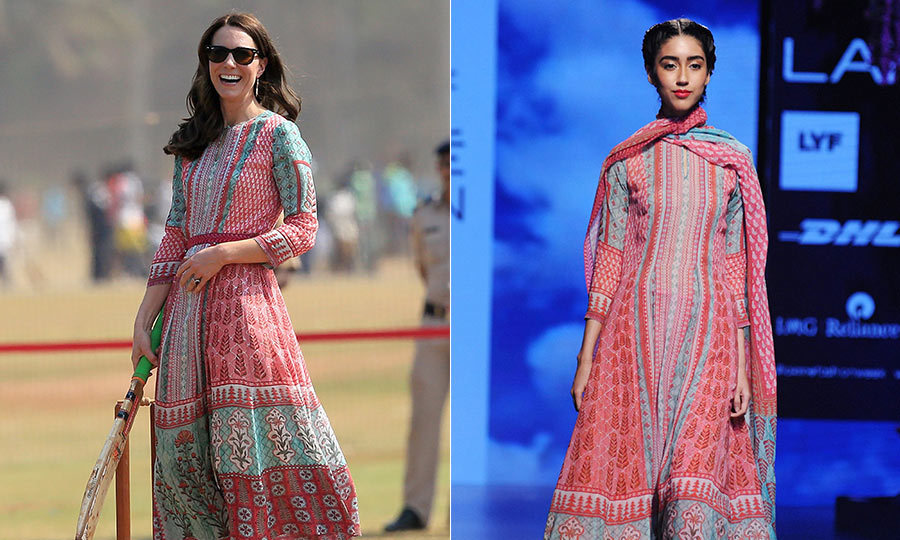 Mumbai Designer Anita Dongre On Kate S Customized Dress And The Best Surprise Of Her Career Royal Tours Hello Canada