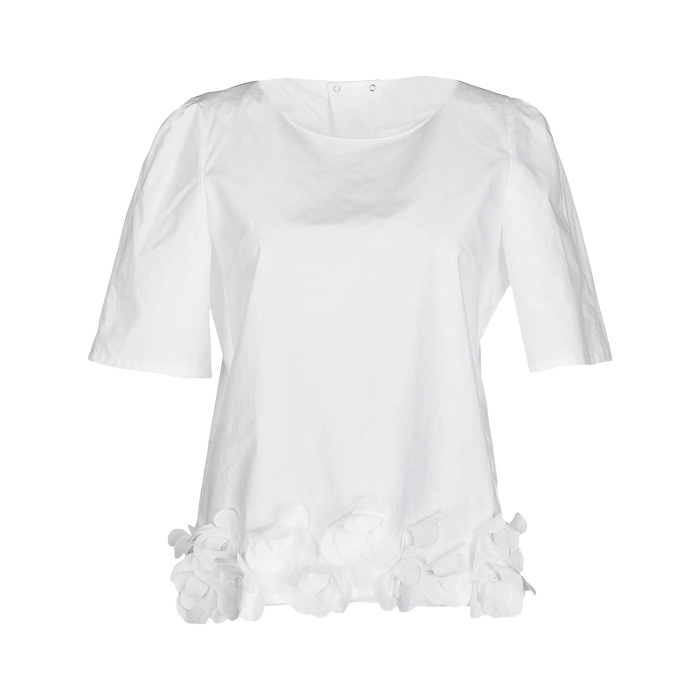<strong>Bagutta blouse in white</strong>, $129, 